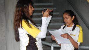 School Reporters at Alexandra Stadium