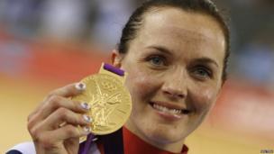 Cyclist Victoria Pendleton