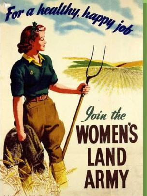 Women S Land Army Revisits Cregneash In World War Ii Bbc