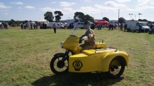 This shot was taken at a vintage car rally in Ladybank in Fife. Sent in by Ryan Gray from Cupar.