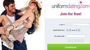 uniform dating site