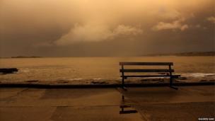 Heavy skies over Lansdowne