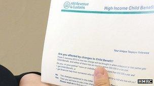 Child Benefit Form Stop Child benefit letter