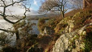 Path along Loch Lomond