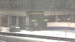 Snow at Gatwick