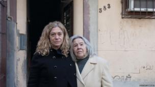 Suzana Keniger Lisboa and her mother Milke Waldemar Keniger