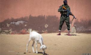 Malian army soldier