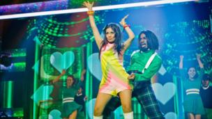 Ore and Sonali dancing for Comic Relief