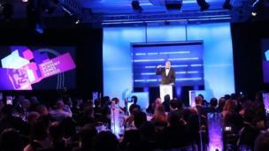 Dara O'Briain at Bafta Games Awards