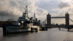 HMS Belfast in 2012