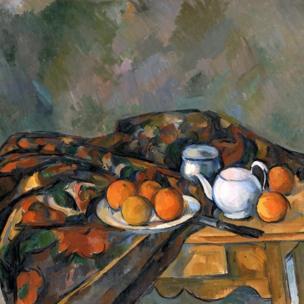 Paul Cezanne - Still Life with Teapot