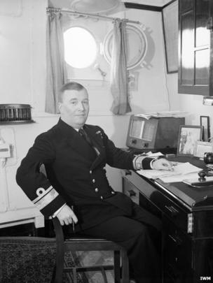 Admiral Robert Lindsay Burnett