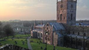 St. David's Cathedral, Pembrokeshire,