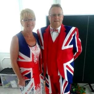 Two Falkland Islands voters