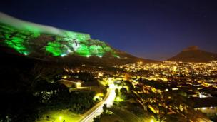 Table Mountain in South Africa joins the global greening initiative