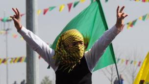 Kurdish new year celebrations in the city of Diyarbakir
