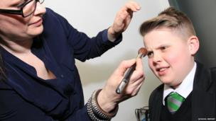 Jak in make-up