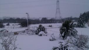 Snow-covered field. Photo: John Boyd