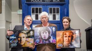 Tom Baker, Peter Davison and Paul McGann