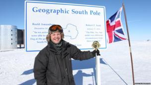 Doug at the South Pole