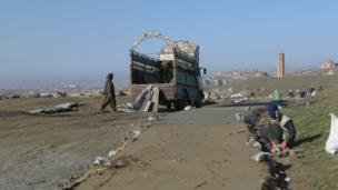 Road in Ghazni