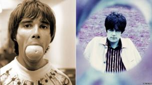 Ian Brown and John Squire