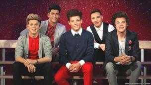 One Direction Waxworks