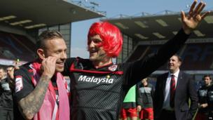 Craig Conway (right with Craig Bellamy)