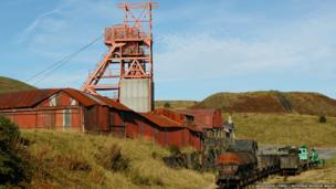 Big Pit National Coal Museum in Blaenavon