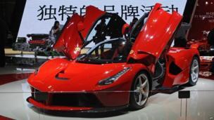 Ferrari F150 V12 hybrid electric supercar car