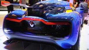 Renault concept car at the Shanghai auto show