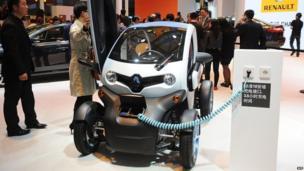 Renault electric town car