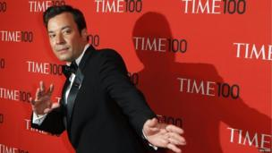 Jimmy Fallon at the Time 100 Most Influential People 2013 Awards (23 April 2013)