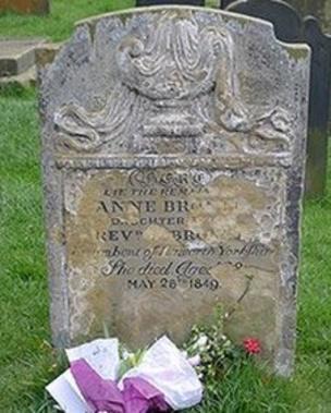 Anne Bronte find a grave