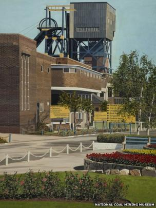Maltby Colliery by Peter Watson