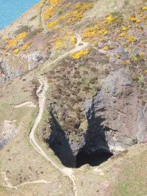 The Witch's Cauldron, Pembrokeshire