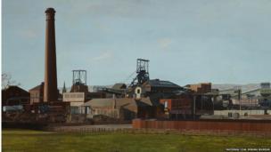 Elsecar Colliery by Peter Watson