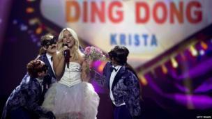 Finland's Krista