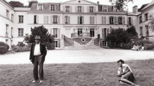 Medu and Gerard at Maison des Artistes photo George Hallett