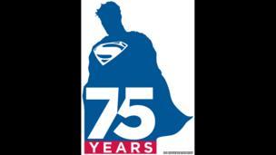 Superman 75 anniversary artwork by DC entertainment