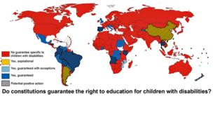 Disabled right to education