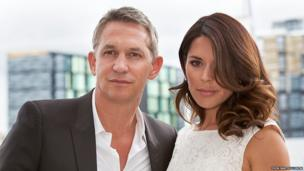 Former footballer Gary Lineker and his model and actress wife Danielle Bux appeared at the Edinburgh International Film Festival. Ms Bux is appearing in We are the freaks, a quirky tale of growing up in 90s Britain.