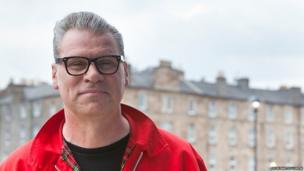 Film critic Mark Kermode is a regular at the Edinburgh Film Festival and presented his Radio Five Live show from the city
