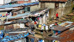 Shanty houses