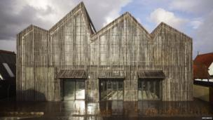 The Kaap Skil, Maritime and Beachcombers Museum in the Netherlands