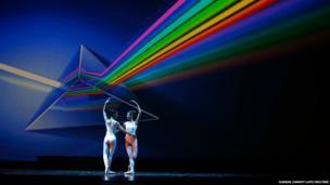 Dancers perform in Dance Dialogue