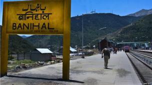 Kashmir train link