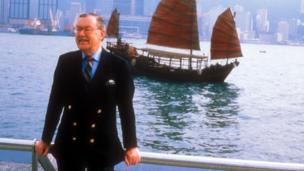 Alan Whicker in Hong Kong