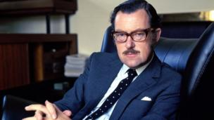 Alan Whicker circa 1960