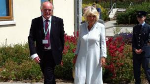 The Duchess of Cornwall in Porthpean